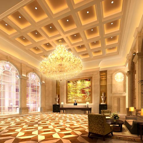 酒店装修欧式风格
