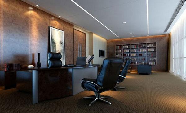 老板办公室装修设计要考虑的问题